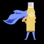 Dripl superhero